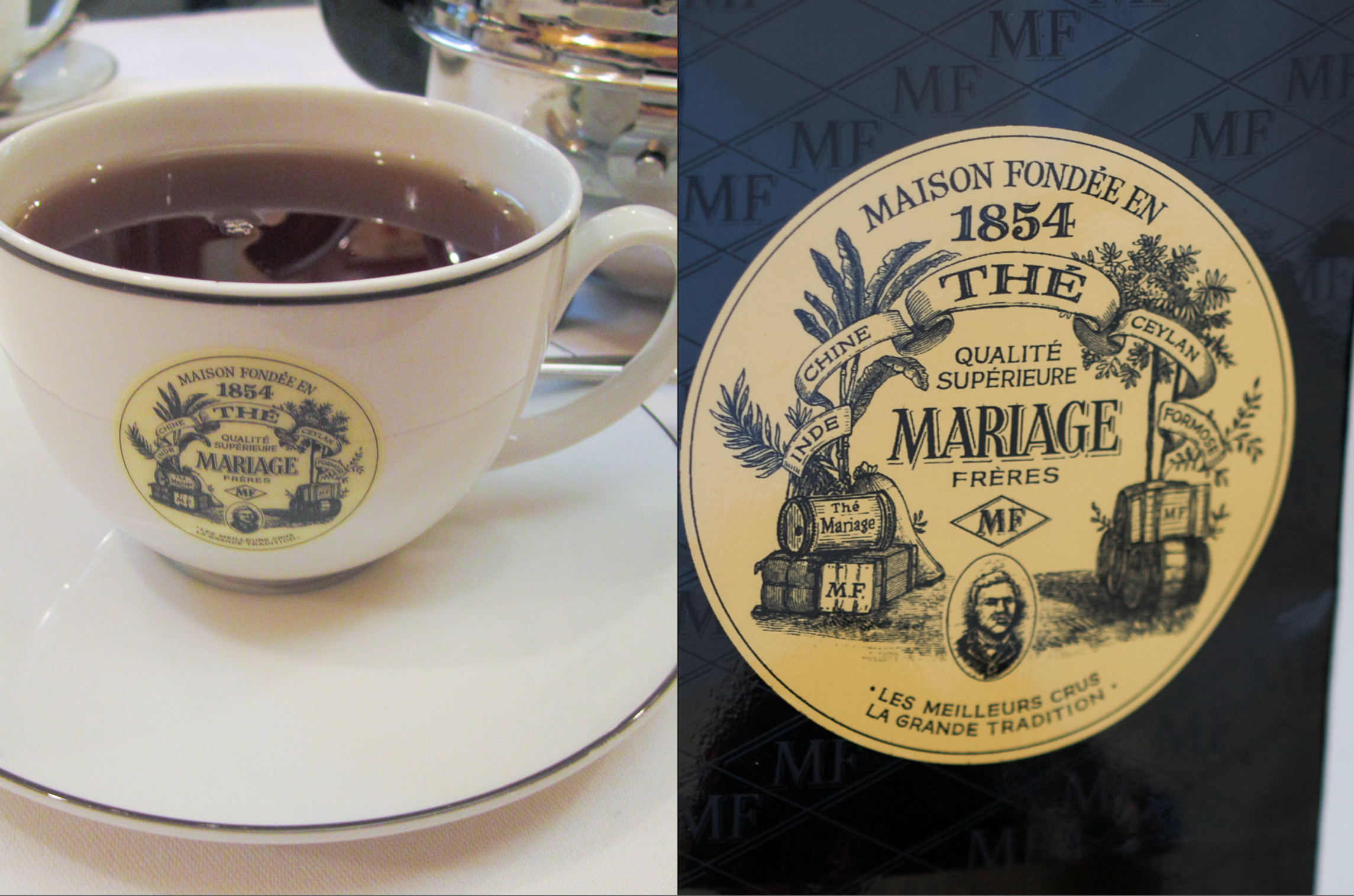 a cup of marco polo - Mariages Freres