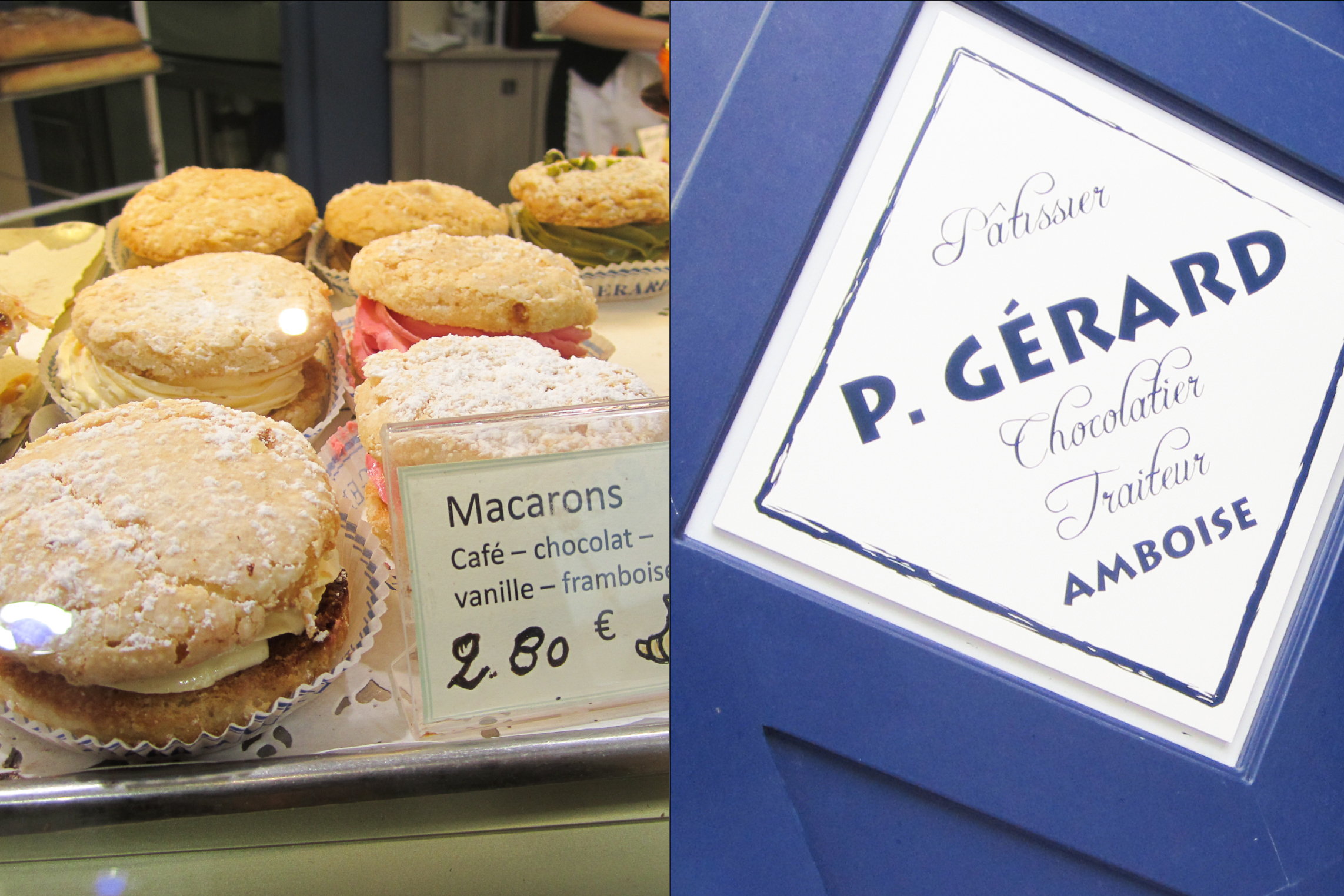 Macarons from P. Gerard in Amboise