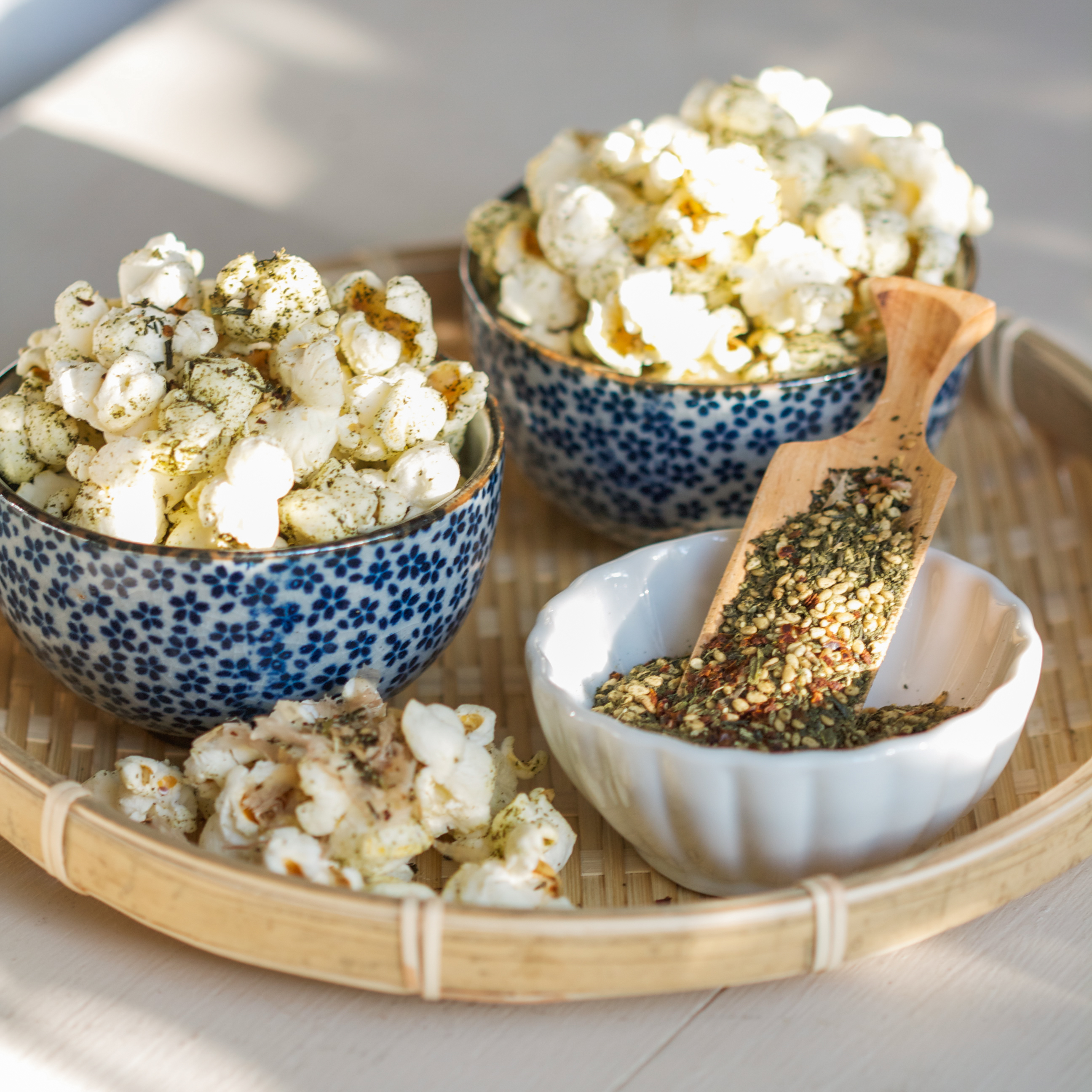 Thirsty For Tea Tea in My Popcorn, and Popcorn in My Tea