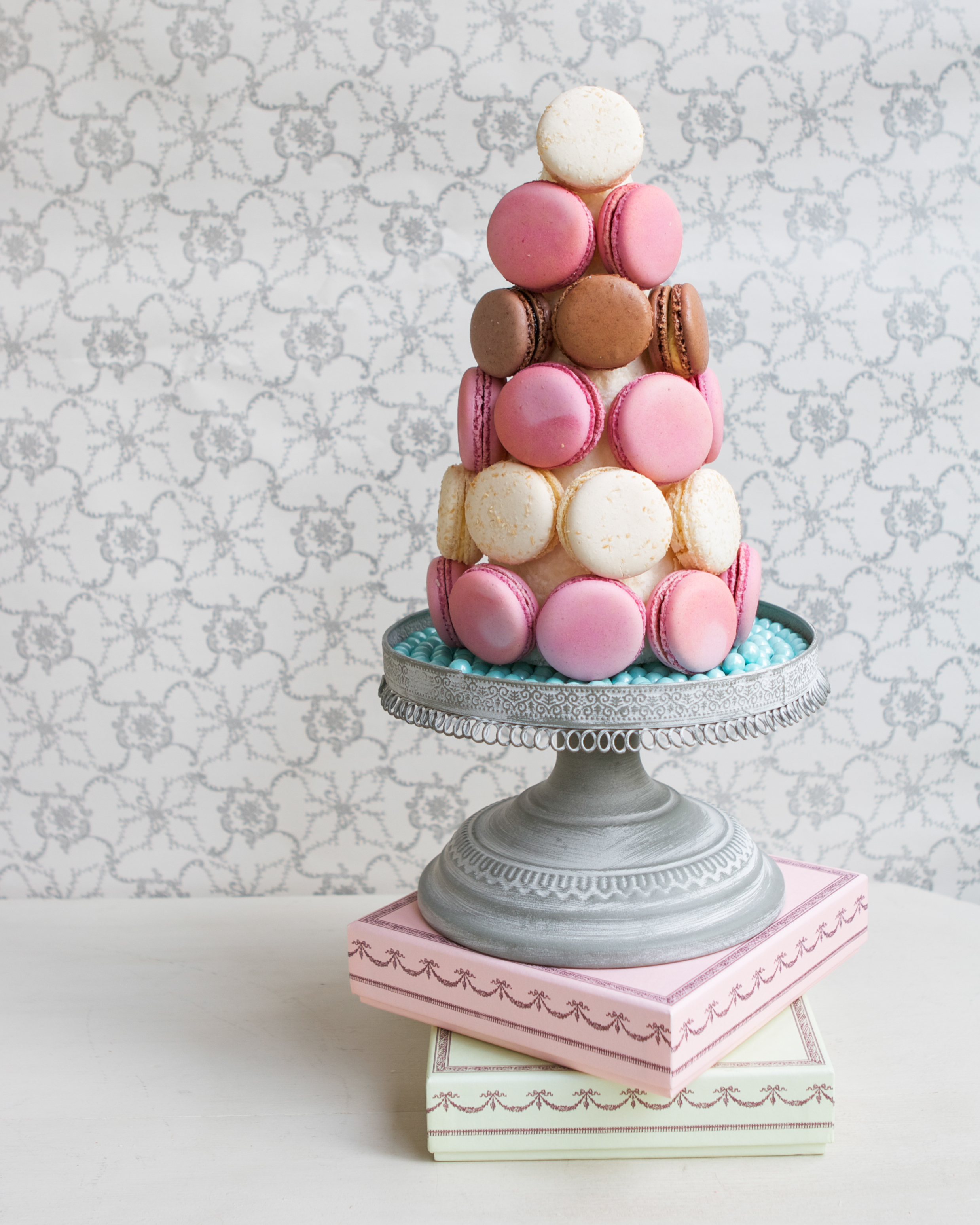 macaroon cake stand - photo #32