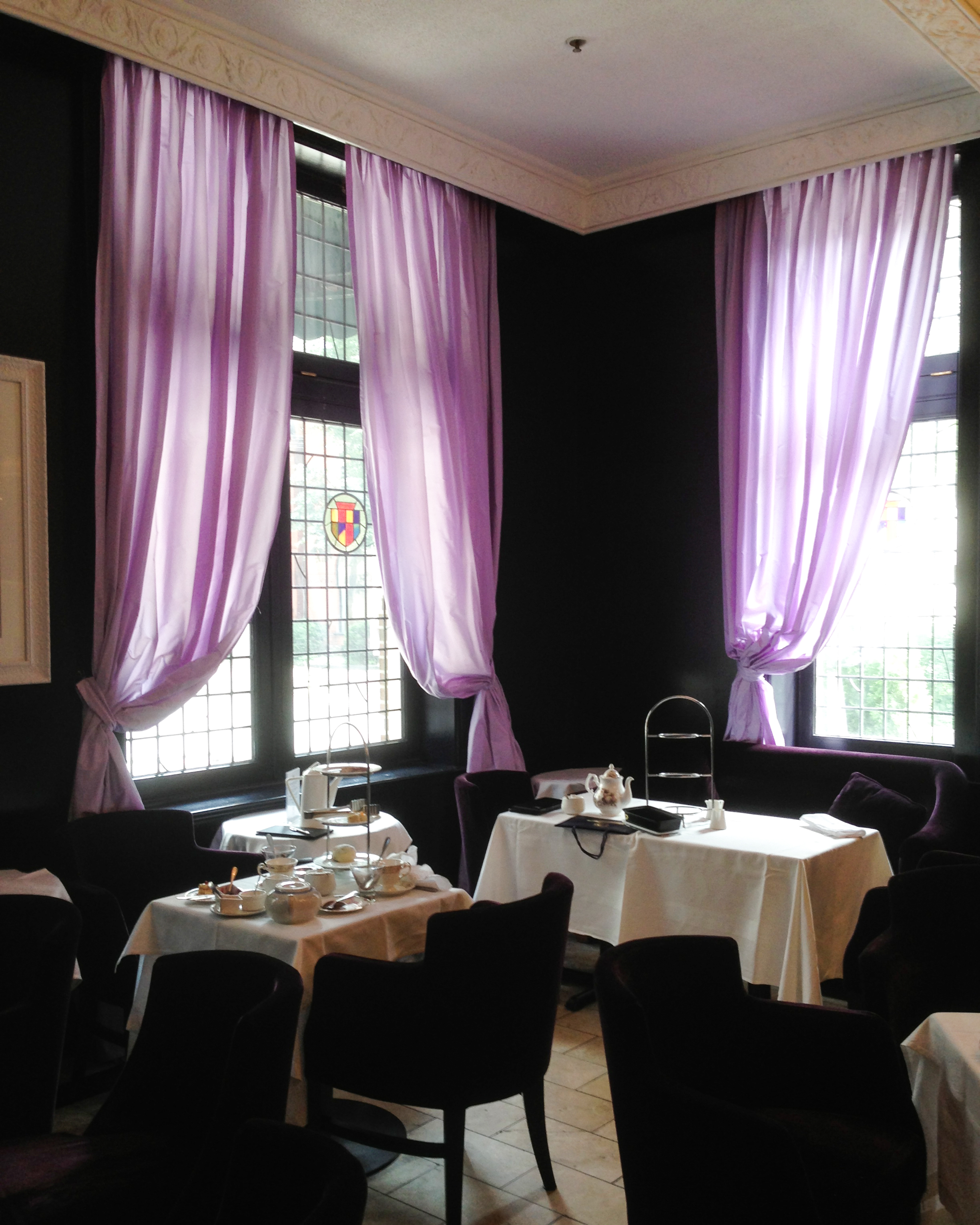 Purple Room: The Windsor Arms In Toronto