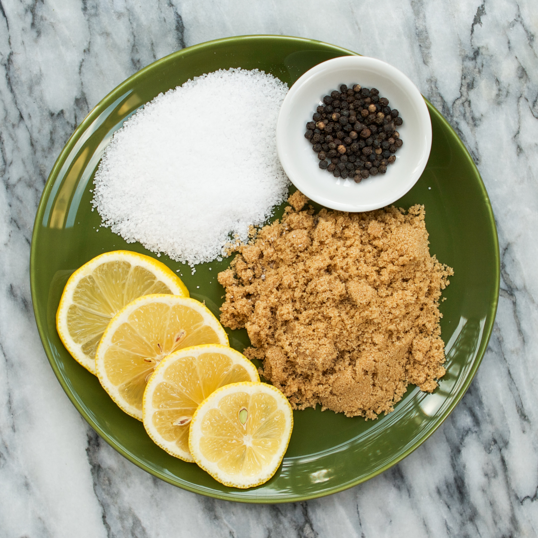 Other ingredients for tea brine