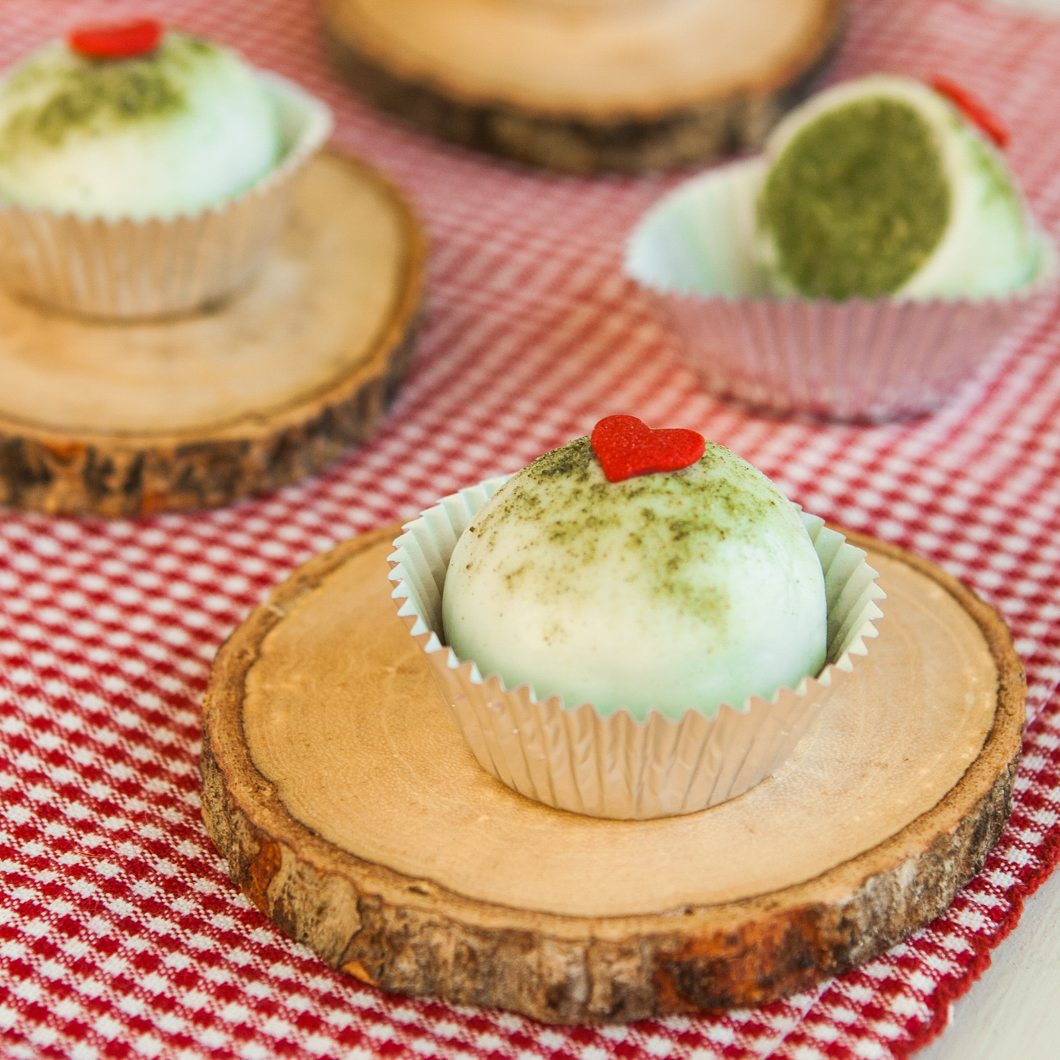 Thirsty For Tea Lemon Matcha Cake Bites