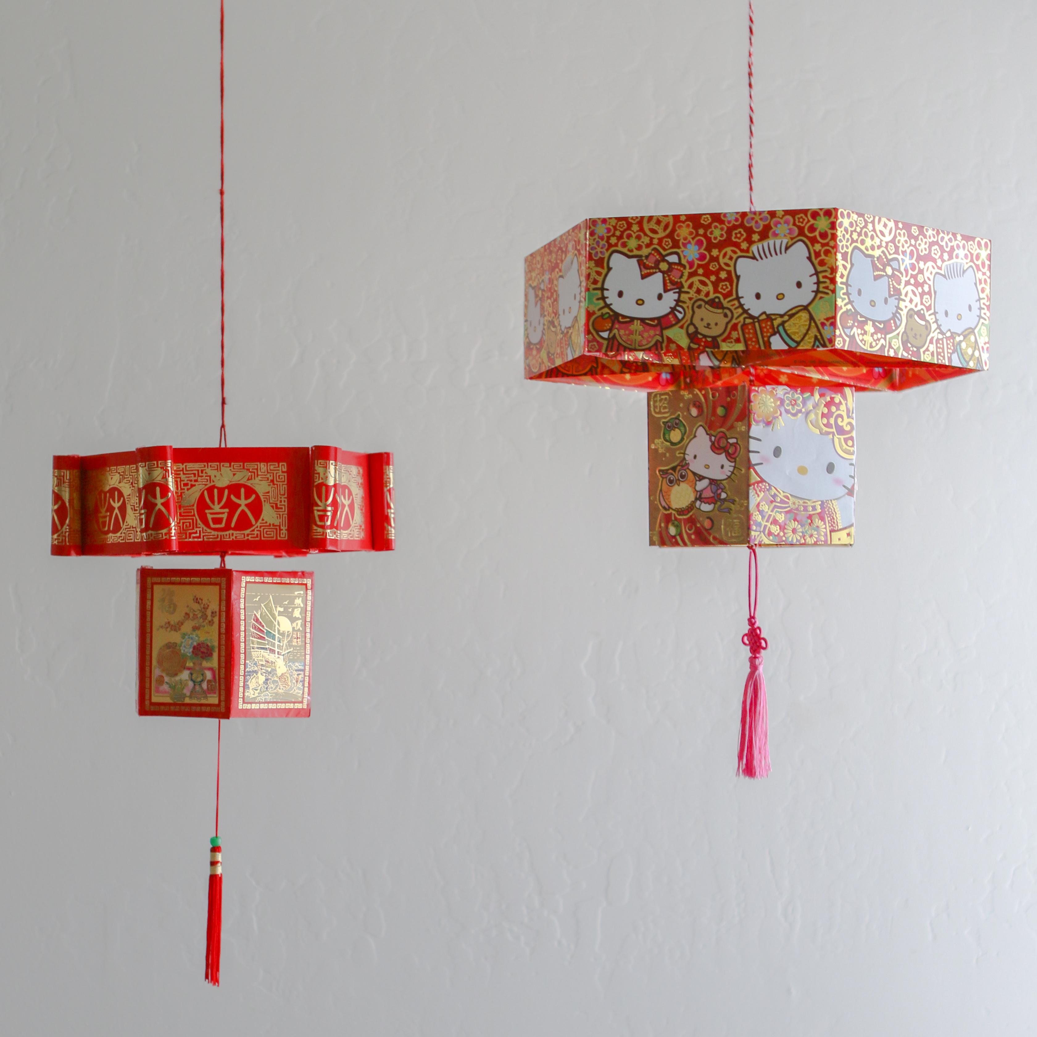Chinese Red Envelope Lantern | Thirsty For Tea for Make Chinese Paper Lantern  585hul