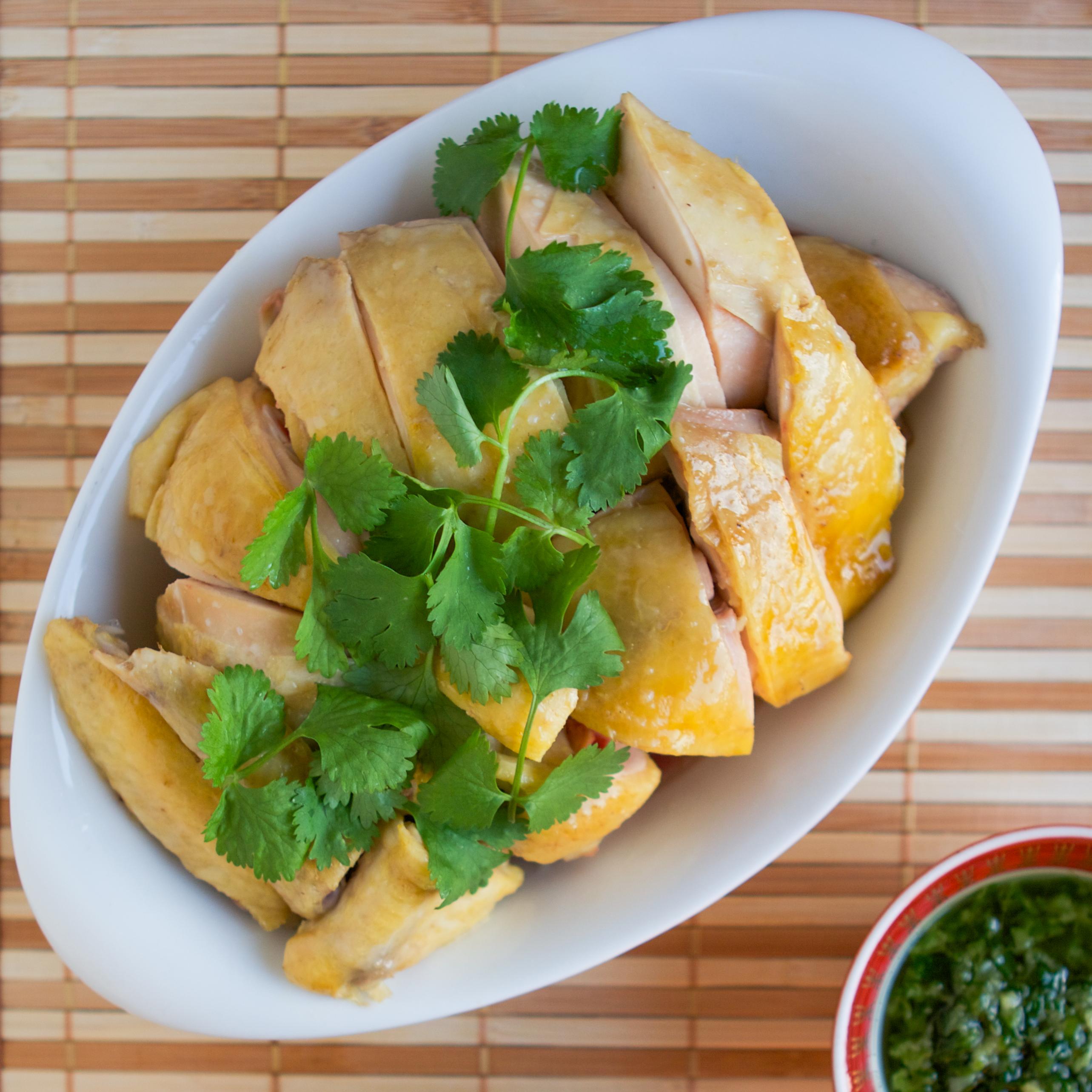 New Year Chicken Recipe White Cut Chicken Pieces