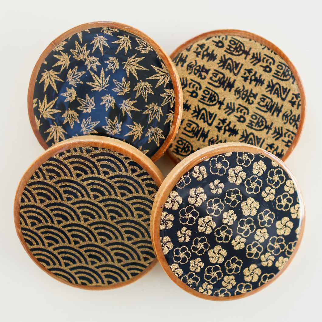 projects design unique coasters.  Asian Teacup Coasters Thirsty For Tea