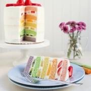 Rainbow Cake Hawaii Recipe