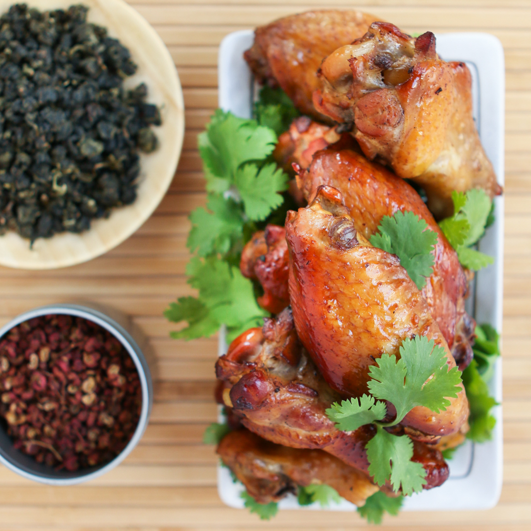Tea Smoked Chicken Wings