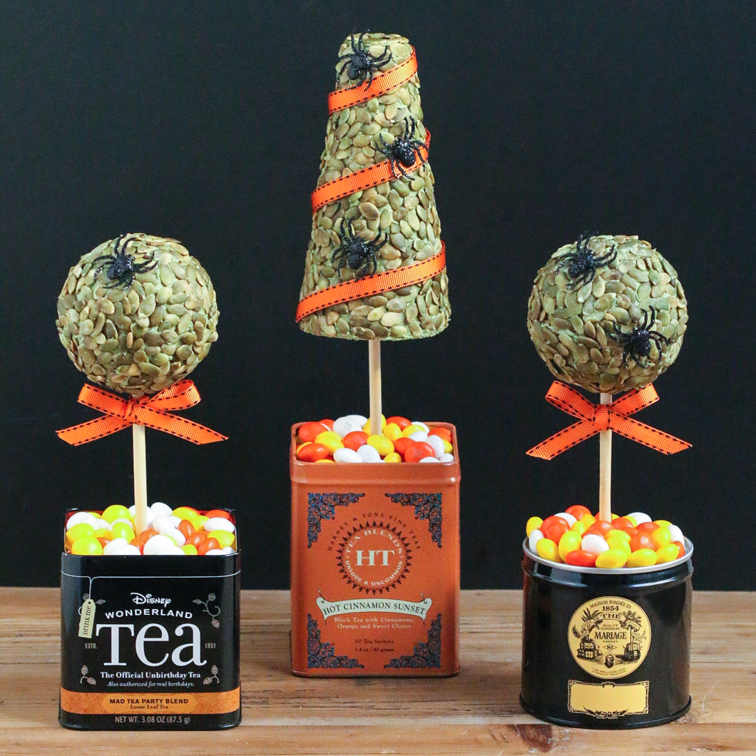 Tea Tin Topiaries Thirsty For Tea