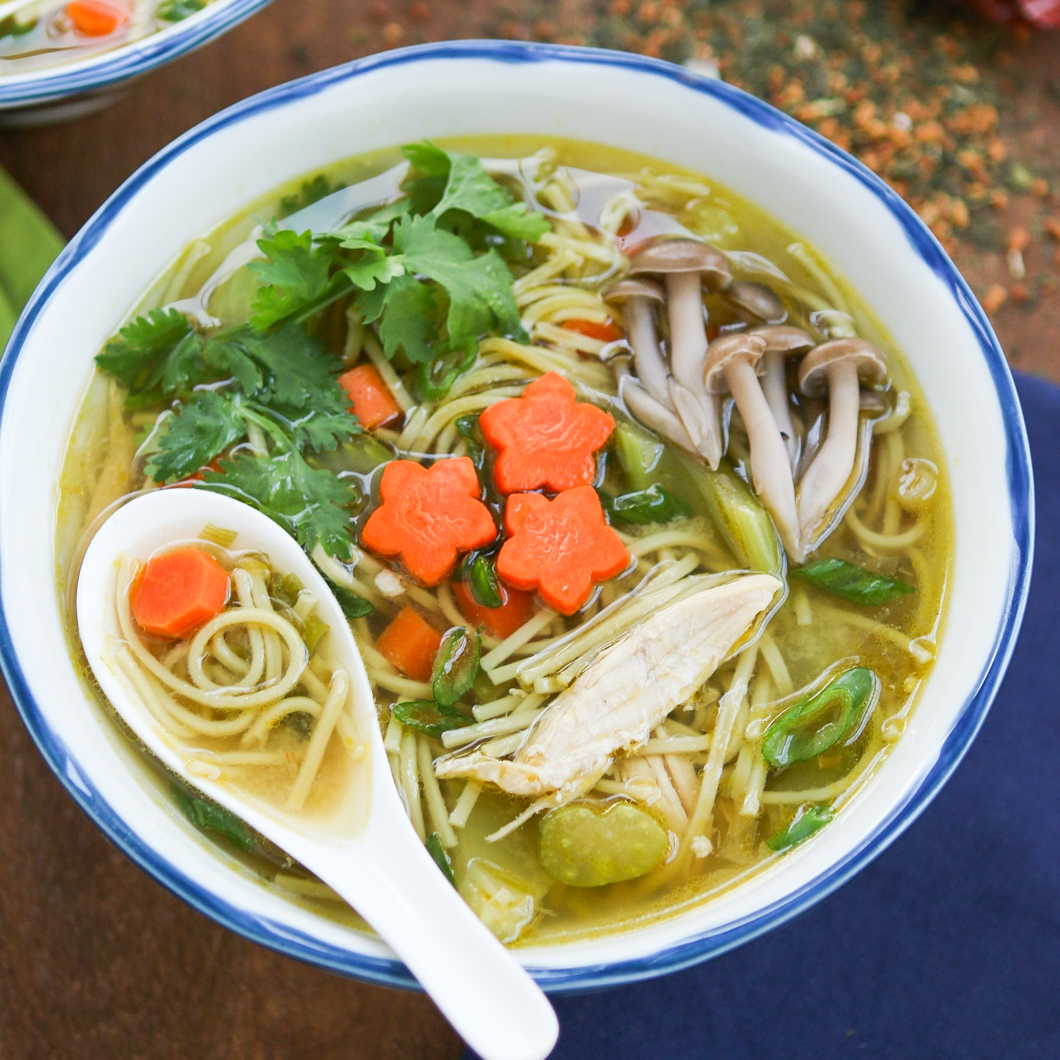 Thirsty For Tea Green Tea Chicken Soup