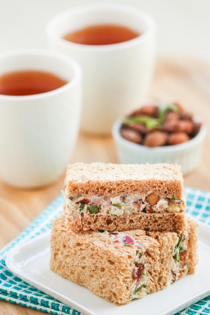 Turkey Tarragon Tea Sandwiches