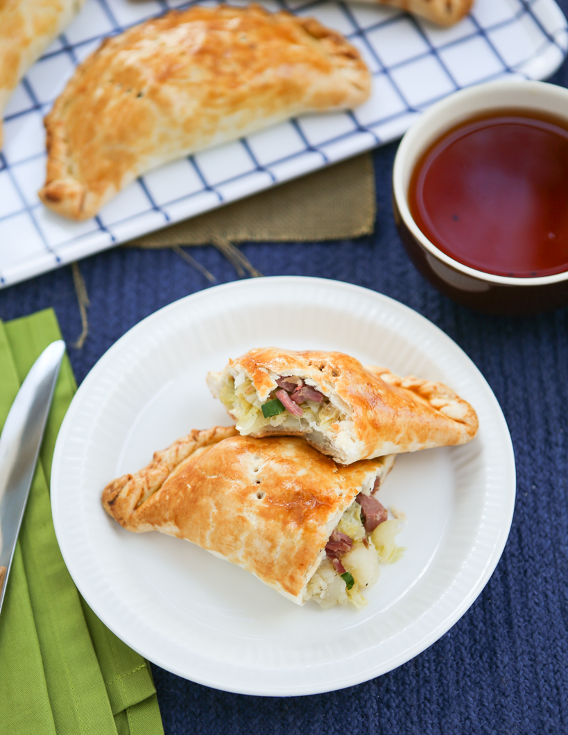 Thirsty For Tea Corned Beef & Cabbage Pasties
