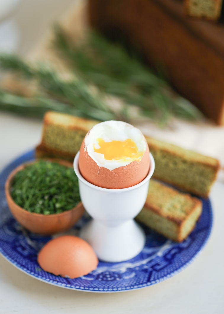 Thirsty For Tea Dippy Egg With Matcha Toast Soldiers