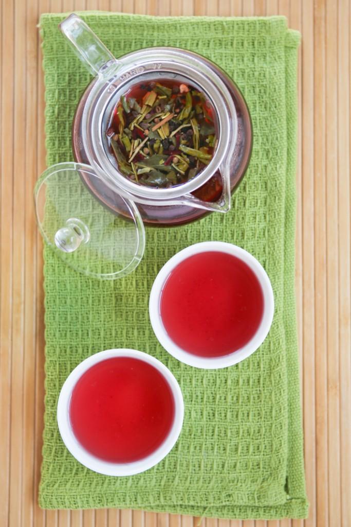 fruit tea dragon fruit flavor