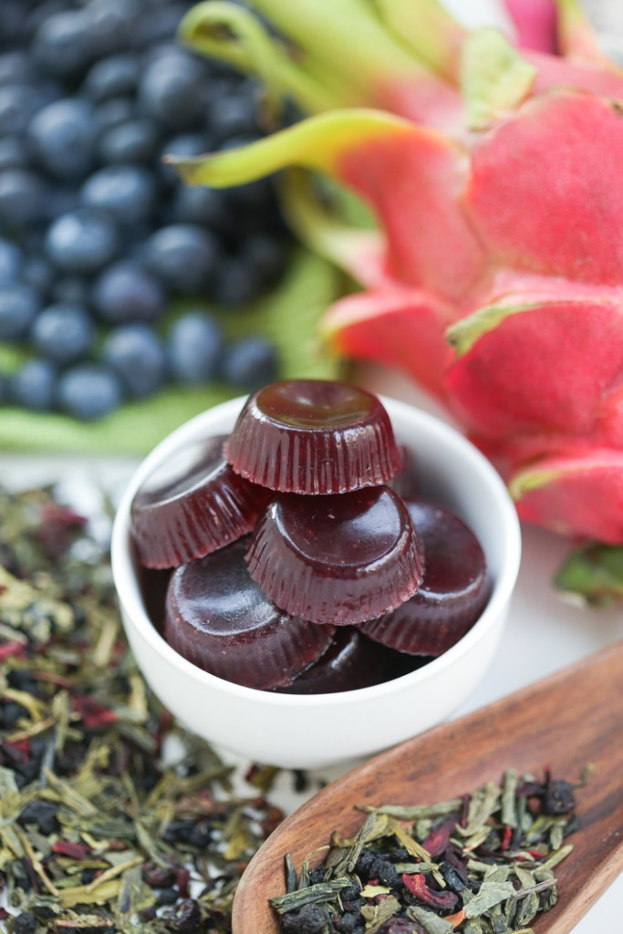 Dragon fruit flower tea
