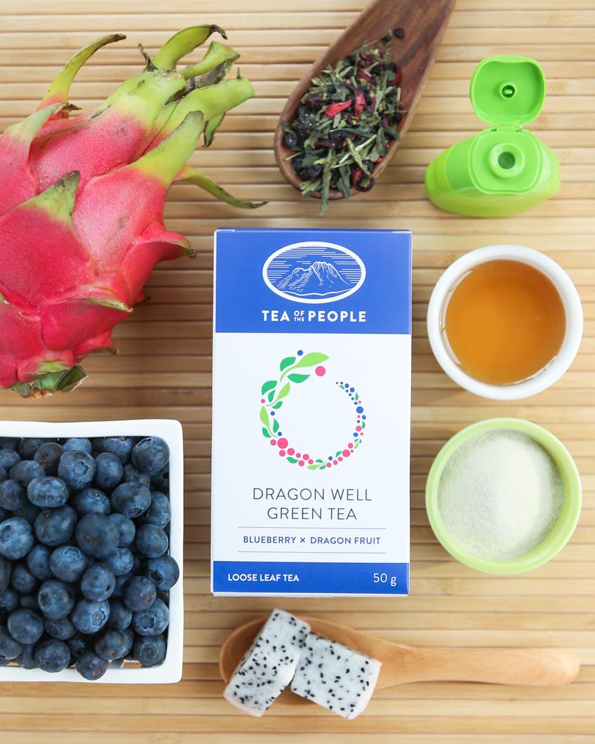 Thirsty For Tea Dragon Fruit Blueberry Tea Gummies