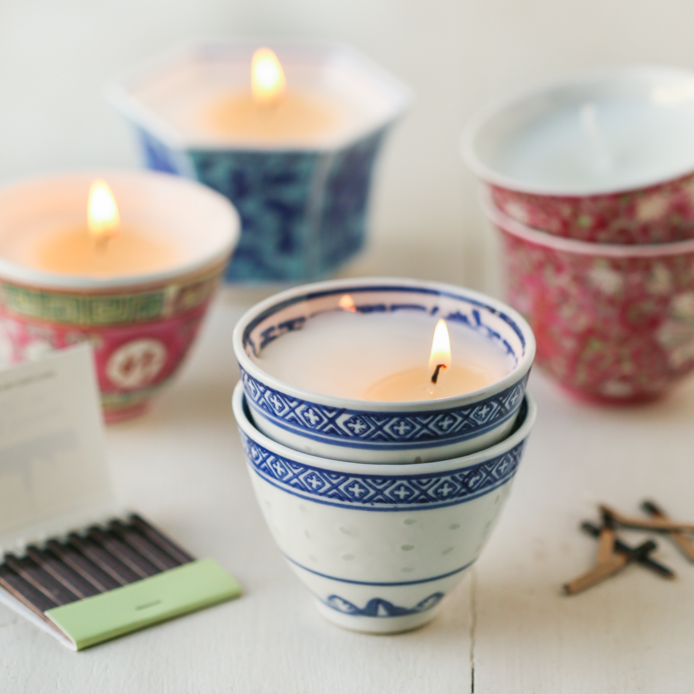 Dose Scented Votive Candle in Teacup