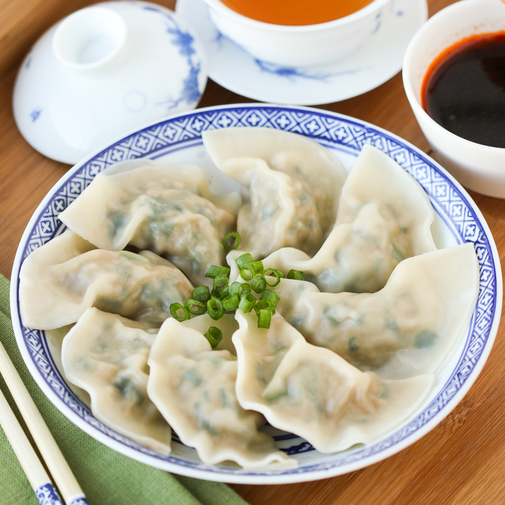 Thirsty For Tea Boiled Pork & Chive Dumplings