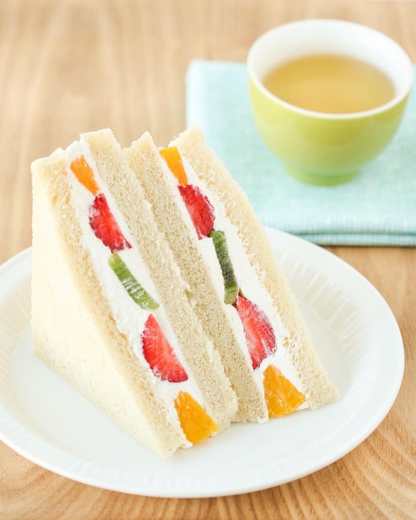 Thirsty For Tea Fruit Sandwiches (Fruit Sando)