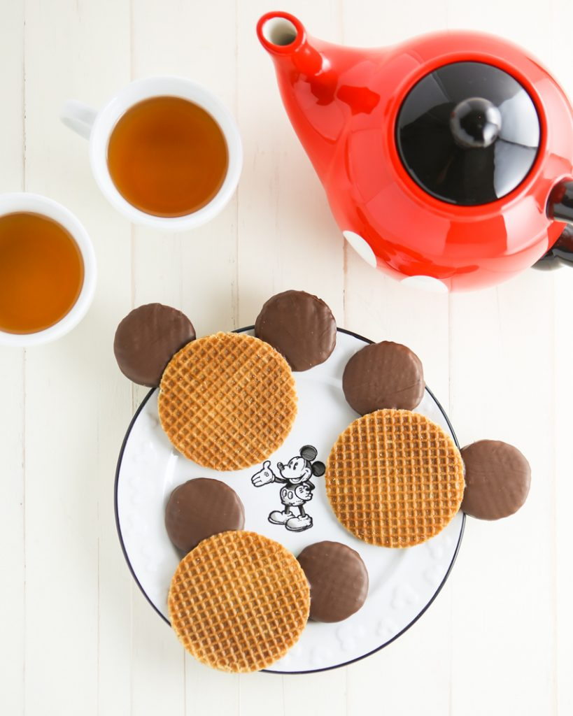 mickey mouse stroopies are inspired by the gingerbread cookies found throughout disneyland during christmastime theyre perfect for fans who want all that - Mickey Mouse Christmas Cookies