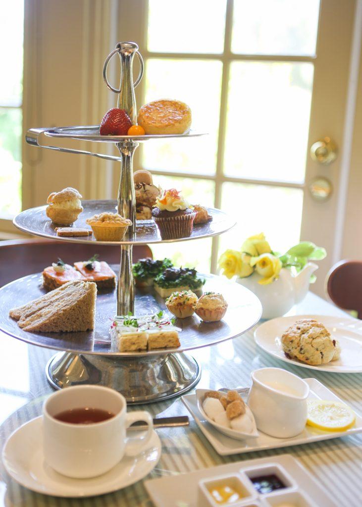 The Huntington Rose Garden Tea Room In San Marino
