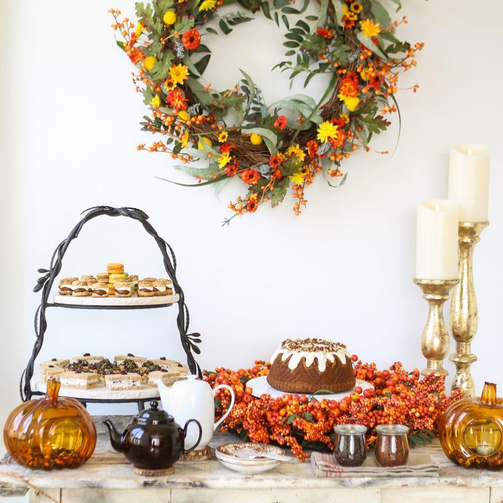 Autumn Tea Party Ideas & A Giveaway!