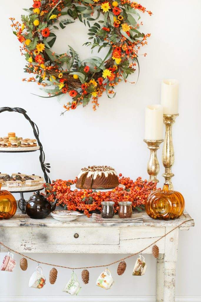 Autumn Tea Party Ideas Amp A Giveaway Thirsty For Tea