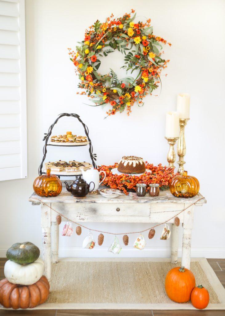 Fall Tea Party Food Ideas